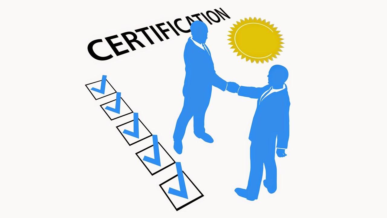 Сертификация пройдена