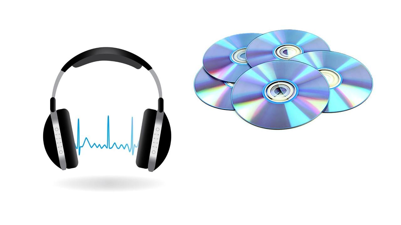 Аудиозаписи и DVD-диски