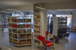 Обновленная библиотека в Боголюбово