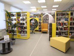 Селивановская районная библиотека после ремонта