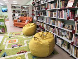 Детская районная библиотека после ремонта