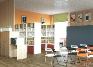 проект дизайна библиотеки пос. Красное Эхо