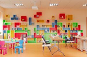 Визуализация игровой зоны Юрьев-Польской детской библиотеки