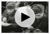 Добровольческие военизированные формирования гражданского населения. Организация подразделений народного ополчения и их участие в боевых действиях - фрагменты кинохроники