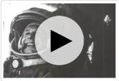 Юрий Гагарин. Первый полет человека в космос - фрагменты кинохроники