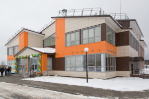 Здание Центра культурного развития пос. Красное Эхо