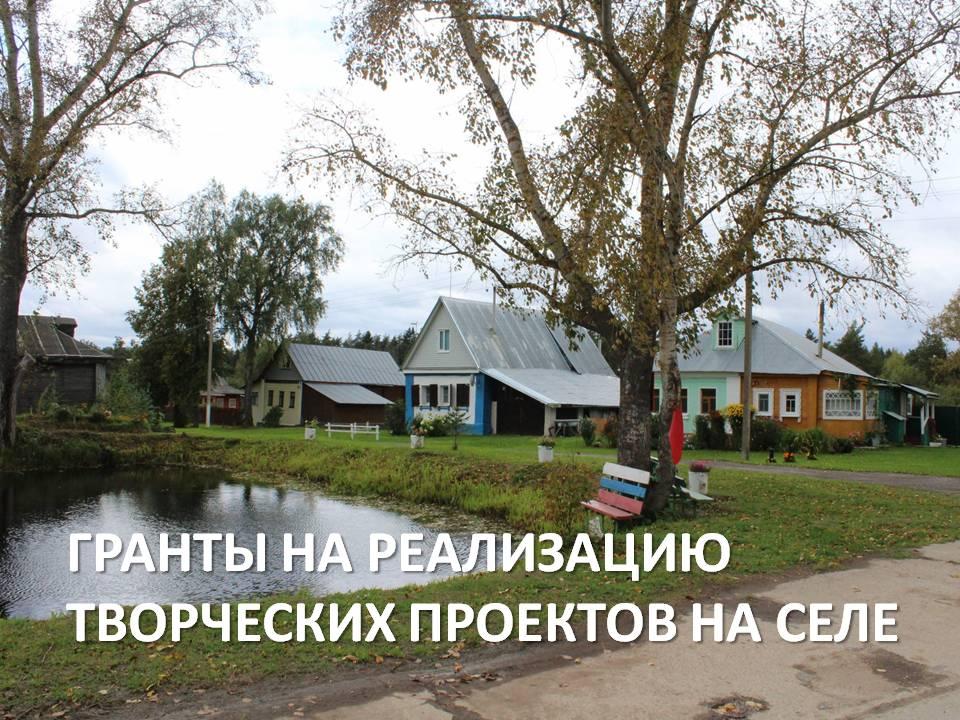 Областные гранты на проекты для села