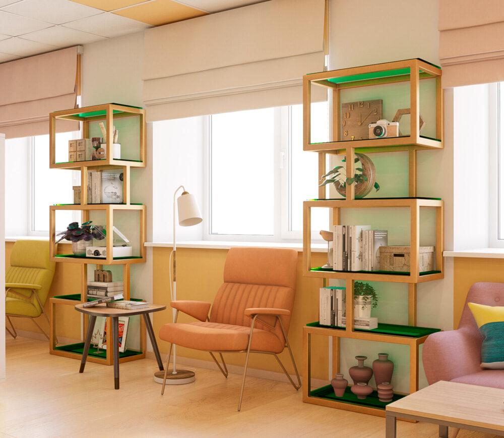 Визуализация дизайна Толпуховской библиотеки