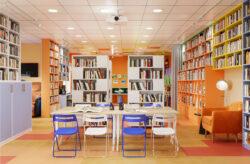 Визуализация библиотечного зала