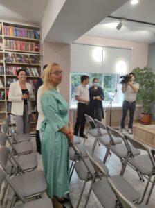 Гости открытия в конференц-зале