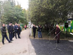 Выступление директора Департамента культуры Владимирской области